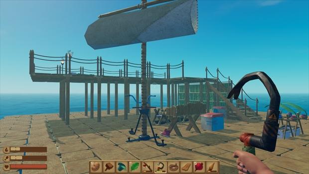 海上生活を楽しめるゲーム