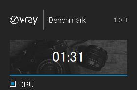 V-Ray Benchmark結果