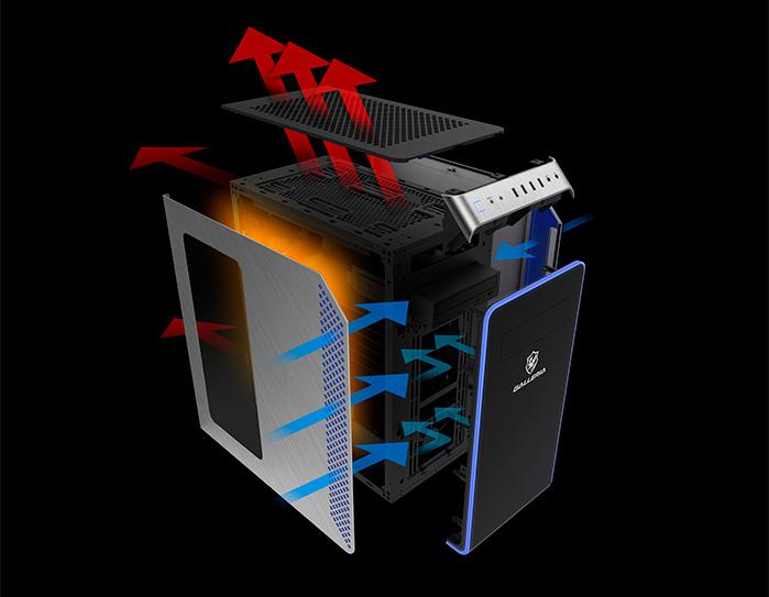 歴代GALLERIAの中で最高性能を持つ冷却機構