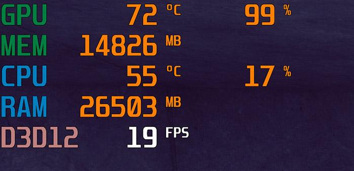 RTX3090はVRAMが24GB搭載