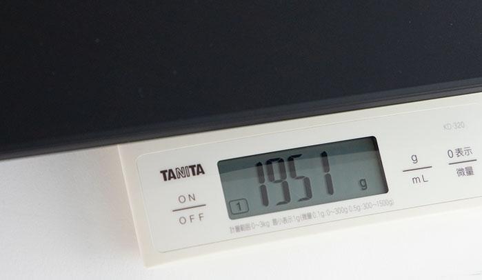 raytrek G5の重量