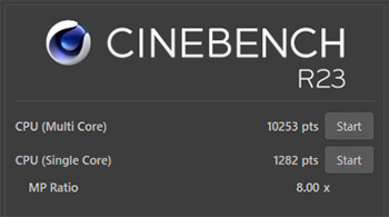 CINEBENCH R23